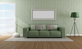 Elegant modern lounge Royalty Free Stock Images