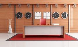 Elegant modern office Royalty Free Stock Photos