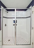 Elegant modern shower Stock Photos