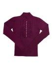 Elegant, modern sweater on a white. Royalty Free Stock Photos