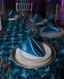 Elegant Modern Table Place Setting Royalty Free Stock Photo