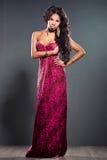 Elegant mulatto girl Royalty Free Stock Images