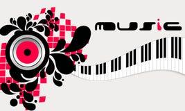 Elegant music background Royalty Free Stock Images