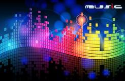 Elegant music background Stock Photo