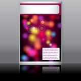 Elegant music flyer Stock Image