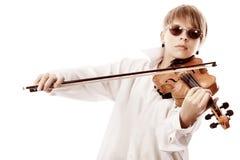 Elegant musician Stock Photo