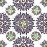 Elegant Naadloos oosters patroon in de stijl van barok Decoratief ornament voor stof, textiel, verpakkend document stock illustratie