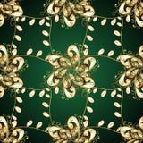Elegant naadloos Paisley Royalty-vrije Stock Foto