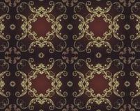 Elegant naadloos patroon Stock Foto