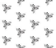 Elegant naadloos patroon Royalty-vrije Stock Afbeeldingen