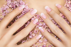 Elegant nail design Stock Photo
