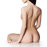 Elegant naked lady Stock Image