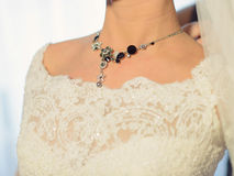 Elegant Necklace Royalty Free Stock Photos