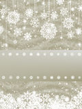 Elegant new year and cristmas card. EPS 8 Stock Images