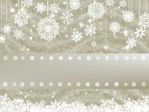 Elegant new year and cristmas card. EPS 8 Royalty Free Stock Image