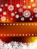 Elegant new year and cristmas card. EPS 8 Royalty Free Stock Photo