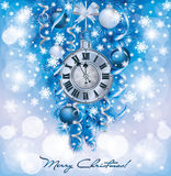 Elegant New Years background Stock Photo