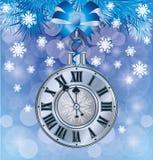 Elegant New Years card. Vector illustration vector illustration