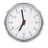 Elegant office clock Royalty Free Stock Image