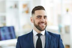 Elegant office worker stock photo