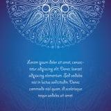 Elegant ontwerpmalplaatje met bloemenelementen  Royalty-vrije Stock Afbeeldingen