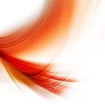 Elegant orange background Stock Image