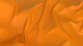 Elegant Orange silk Stock Images