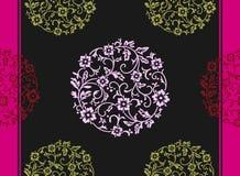 Elegant original seamless floral (vector) Stock Images