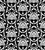Elegant ornament background. Traditional style damask pattern background royalty free illustration
