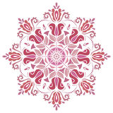 Elegant Ornament in the Style of Barogue. Abstract traditional pattern with oriental elements Stock Photography