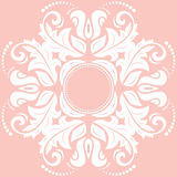 Elegant Ornament in the Style of Barogue. Abstract traditional pattern with oriental elements Royalty Free Stock Photography