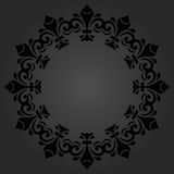Elegant Ornament in the Style of Barogue Royalty Free Stock Photo