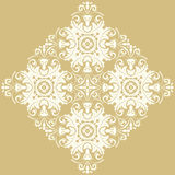 Elegant Ornament in the Style of Barogue Stock Image