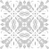 Elegant Ornament in the Style of Baroque. Abstract traditional pattern with oriental elements Stock Images
