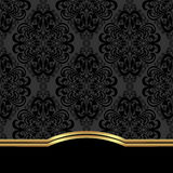 Elegant ornate  Background with border for design. Stock Photography