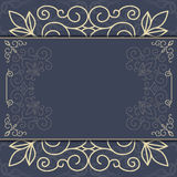 Elegant ornate background ornament for invitations, greeting card, menu. Royalty Free Stock Image