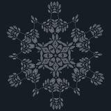 Elegant ornate floral design templates. Lineart vector frames and monograms illustration. Stock Photos