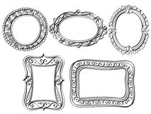 Elegant Ornate frames Royalty Free Stock Image