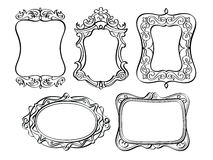 Elegant Ornate frames Stock Photos