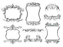Elegant Ornate frames Royalty Free Stock Photo
