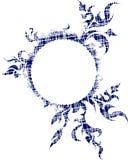 Elegant oval vintage frame for your design. Stock Image