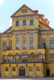 Elegant palace in Nesvizh Stock Photo