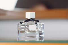 Elegant Parfume Bottle Stock Photography