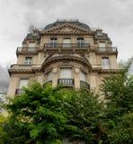 Elegant parisian building Stock Images