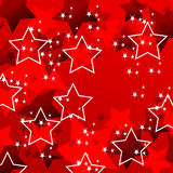 Elegant party background with stars Royalty Free Stock Photography