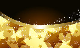 Elegant party background with stars Royalty Free Stock Photo