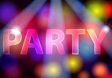 Elegant party invitation Stock Image
