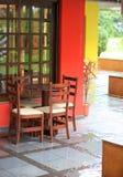 Elegant patio Royalty Free Stock Photos