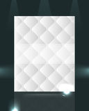 Elegant pattern design isolated on dark background Stock Photo