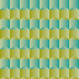 Elegant pattern with green geometric shapes silk effect Royalty Free Stock Photo